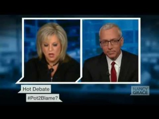 Obviously Youre Stoned: Nancy Grace Flips Out over Pot Again, Feat. Dr. Drew (FULL VIDEO)