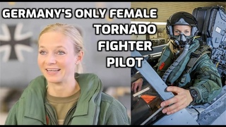 Only Female Tornado Fighter pilot of Bundeswehr [Deutschlands einzige Kampfjet-Pilotin]