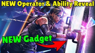 FIRST LOOK At The NEW Operator and Gadget | Operation Crystal Guard - Rainbow Six Siege