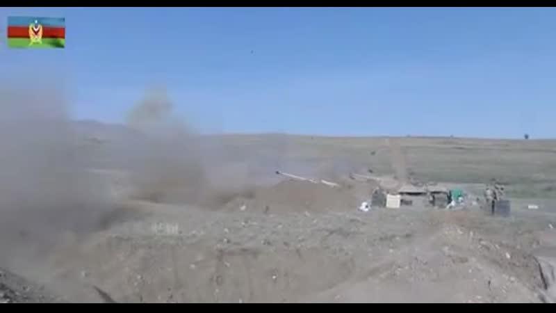Удары по позициям ВС Армении