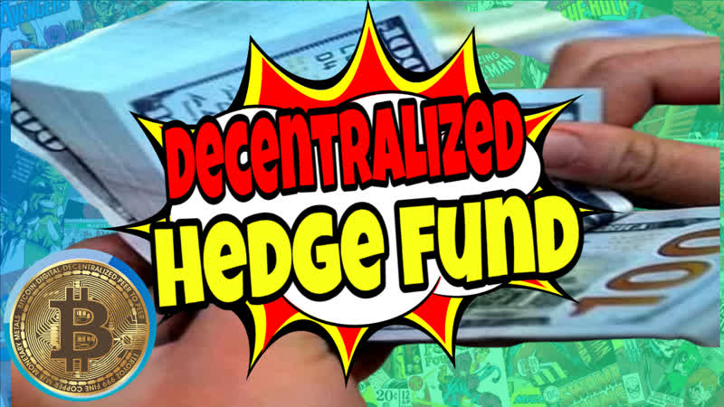 Decentralized crypto hedge fund