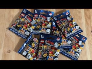 Распаковка и обзор минифигурок первого Лего Фильма📦✂️