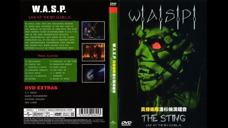 Исполнитель W A S P WASP The Sting Live at the Key Club L A