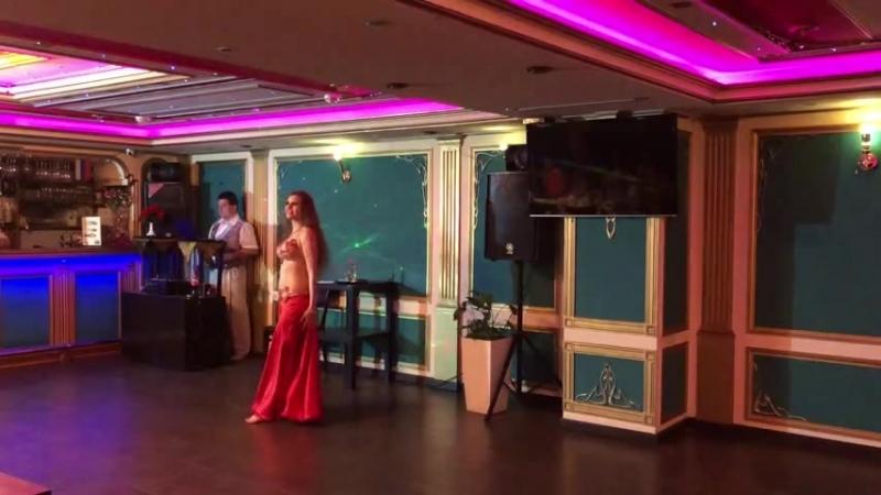 Выступление на восточной вечеринке Maharajan Alearabic (Отчетный концерт Союза Школ BellyDance) 13.05.2018 (2)