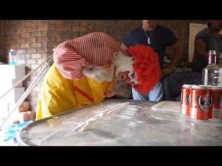 ORIGINAL Ronald McDonald's EXTREME NEKNOMINATE