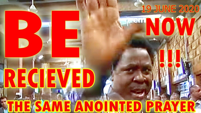 T.B. JOSHUA Anointed Prayer Heavily Anointed Prayer! Be Recieved The Sam Anointed Prayer Now!