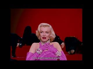 Filme 19• 1953: Gentlemen Prefer Blondes (Os Homens Preferem as Loiras) – Howard Hawks Marilyn Monroe