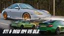Новый BMW M4 G82 Competition VS M4 F82 Competition и мой Porsche 911 BMIRussian