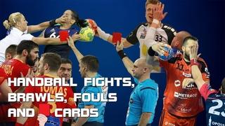 BRUTAL HANDBALL FIGHTS, BRAWLS, FOULS & RED CARDS