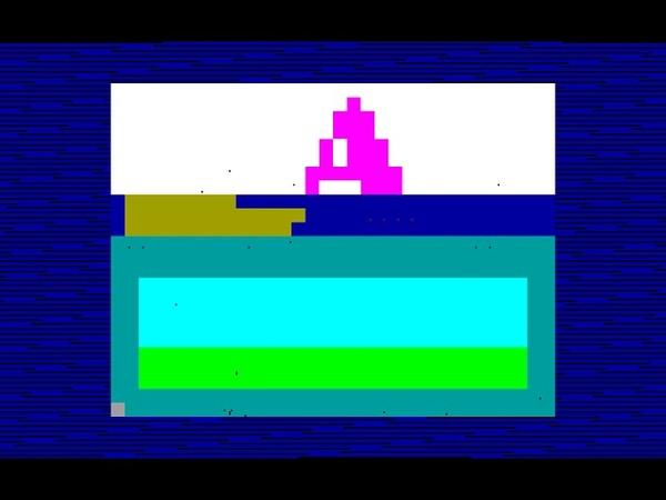 Gama's Megademo - Gama (Czech Republic) 1995 [zx spectrum AY Music Demo]