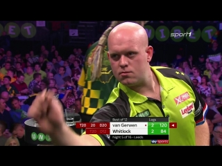 Michael van Gerwen vs Simon Whitlock (2018 Premier League Darts / Week 5)