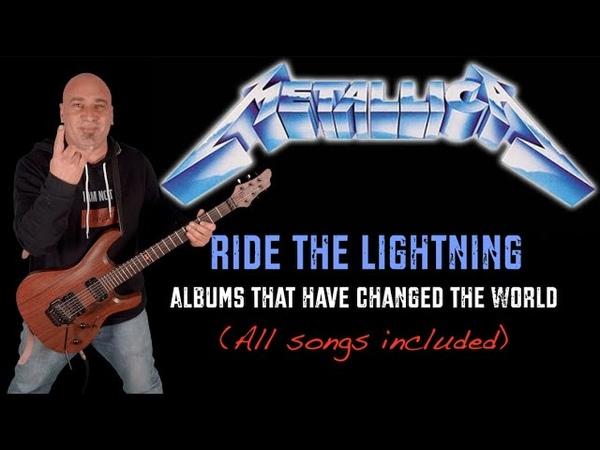 Metallica Ride the Lightning Guitar Riffs