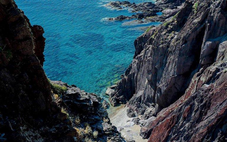 Порто Флавия - уникальная шахта на Сардинии, изображение №1