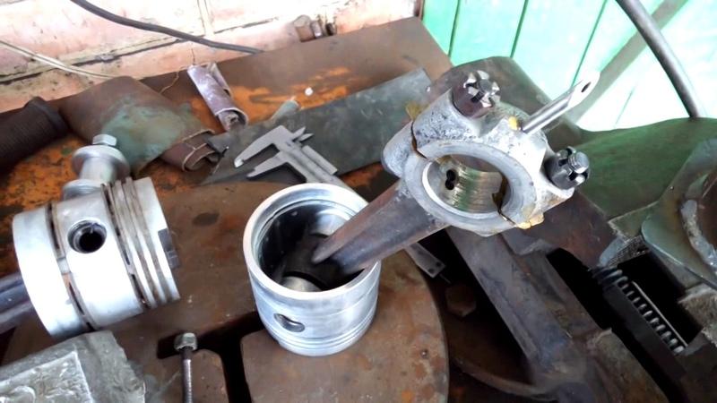Как залить баббит в шатун компрессора со 7б