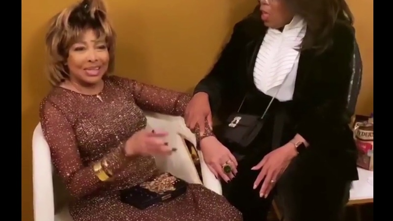 Tina Turner BackStage Interview with Oprah - Musical Premiere (2019)