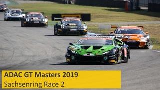 ADAC GT Masters Race 2 Sachsenring 2019 Live English