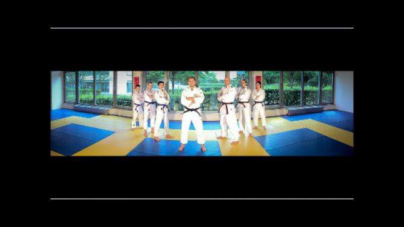 Judo orange grün Anwendung Stand Teil 3 Verteidigen durch Blocken gegen 2 Eindrehtechniken