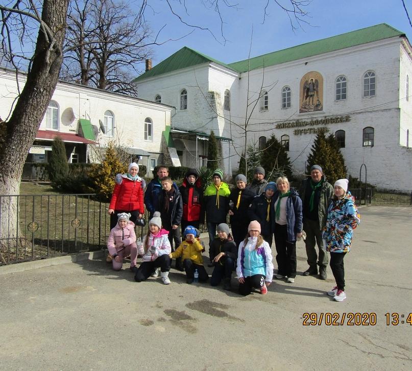 Разведчики дружины «Анапа» совершили паломничество в Михайло-Афонский мужской монастырь