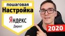 Настройка Яндекс Директ 2020 Контекстная реклама Яндекс Директ простыми словами