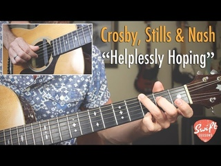 Fingerstyle Guitar Lesson - Helplessly Hoping By Crosby, Stills & Nash