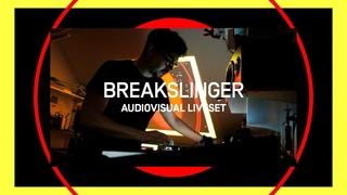 Breakslinger - Audiovisual Liveset 2020 (Drum'n'Bass & 170 BPM Electronica)