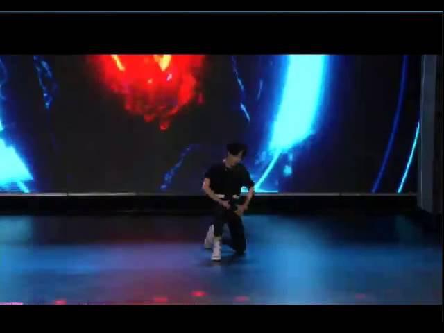 150615 UNIQ Wang YIBO sexy dance solo cut @IDOL SHOW