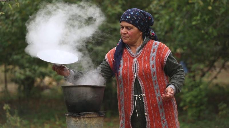 Ənənəvi Azərbaycan Mətbəxi Qarabağ Kətəsi və Buğlama ASMR food Country Life Vlog