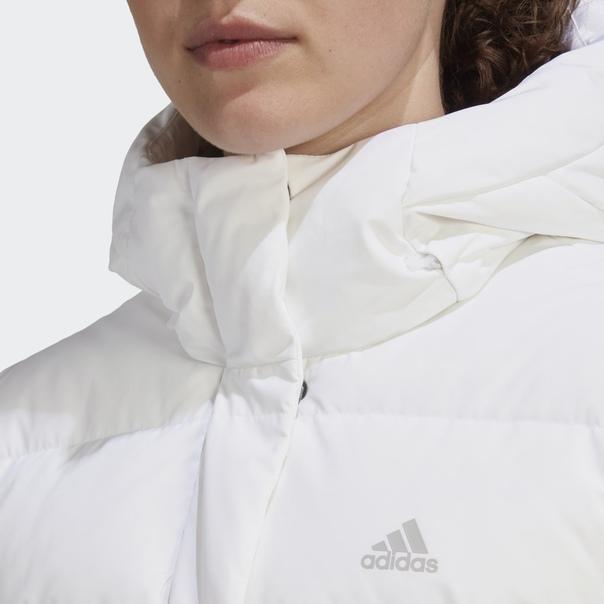 Длинная куртка-пуховик image 7
