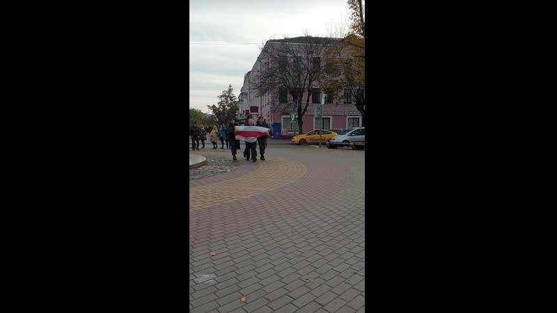 Видео задержания в Бресте на Советской