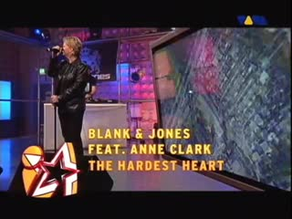 Blank & Jones Feat Anne Clark - The Hardest Heart (Live @ VIVA Interaktiv)