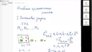 Колебания кристаллических решеток. Лекция 1. Михаил Михайлович Глазов. Физика конденсированных сред.