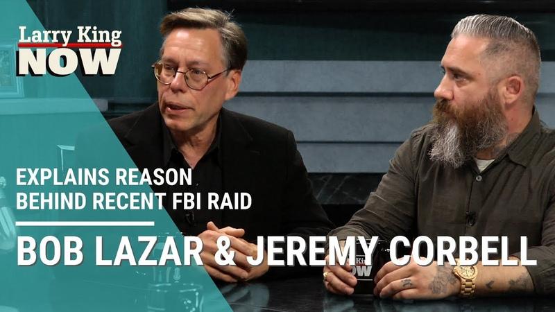 UFO Truther Bob Lazar Explains Reason Behind Recent FBI Raid