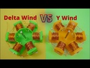 3D Printed Brushless Motor Winding Comparison Delta Wind VS Y Wind / 3D Printed Brushless Motor