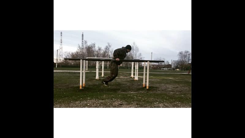 Тренировка на свежем воздухе с Александром Малько
