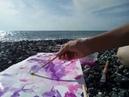 Спонтанный рисунок у моря