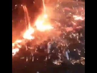 В оккупированном Мариуполе 2000 тонн чугуна вылилось прямо в цех