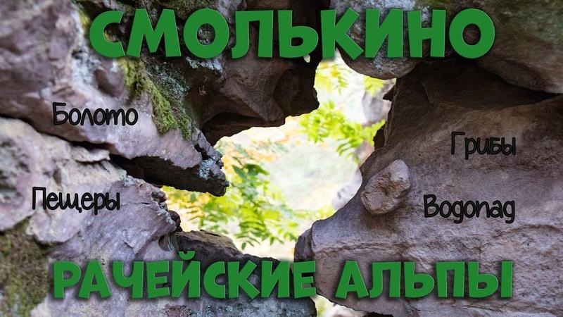 Большая прогулка по окрестностям Смолькино Черные грузди Болото с клюквой Гремячие водопады