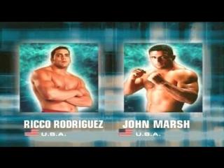 John marsh vs ricco rodriguez