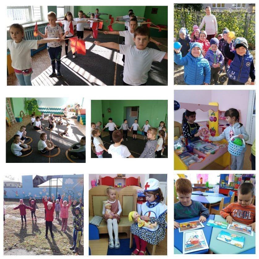 В детских садах Петровского района проходит Неделя здоровья