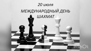 Международный день шахмат - 20 июля. История, особенности и традиции праздника. История шахмат