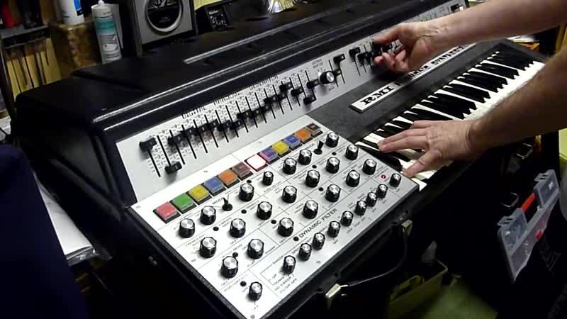 RMI Harmonic Synthesizer quick test