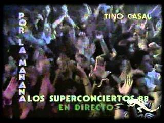 Tino Casal en los Superconciertos (TVE, 1988) (1ª Parte)