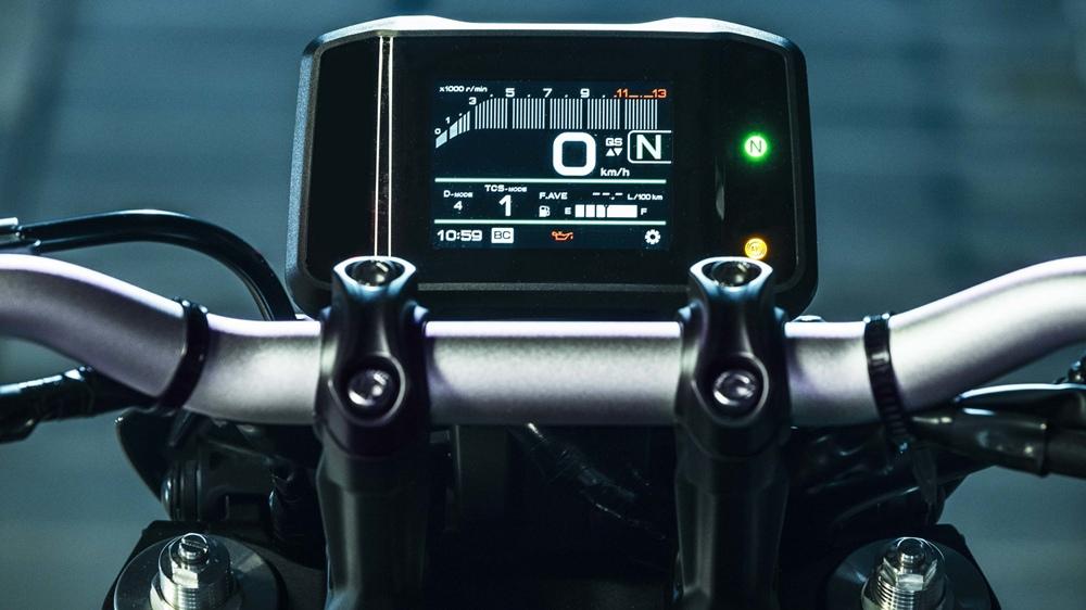 Новый мотоцикл Yamaha MT-09 2021