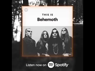 'This is Behemoth' on Spotify