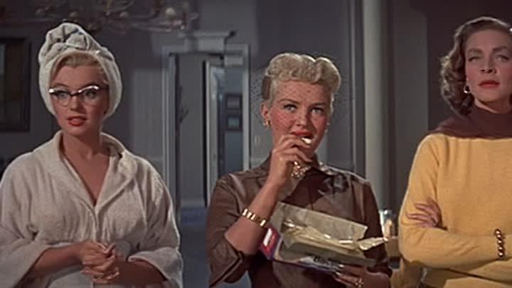 Как выйти замуж за миллионера 1953 Мэрлин Монро Мюзикл комедия