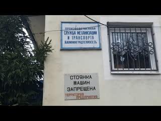 Парковочная война на ул. Нарвской в Калининграде.