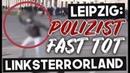 Linker Terror zu Silvester - Antifa tötet beinahe Polizisten