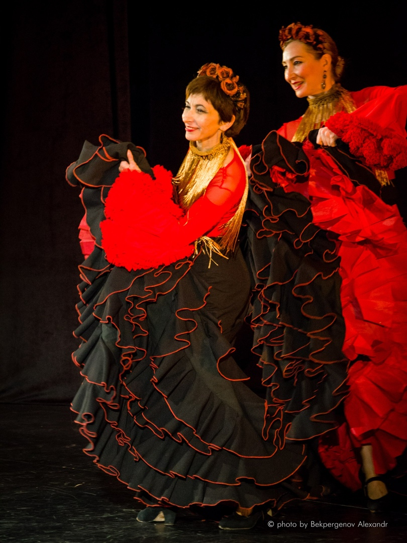 Афиша Тольятти Открытый урок фламенко