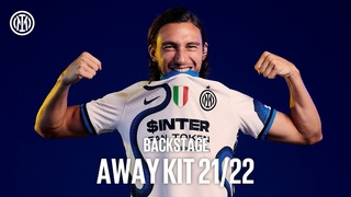 THE NEW INTER AWAY KIT 2021/22 | EXCLUSIVE BACKSTAGE ft Darmian, D'Ambrosio and Ranocchia  🐍⚫🔵🎬