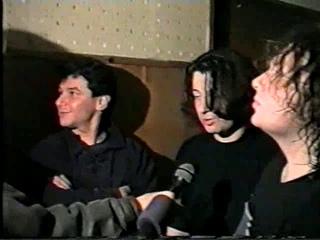 Интервью группы после концерта (Харьков, г.)